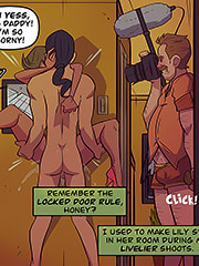 The photoshoot - Remember the locked door rule by jab comix